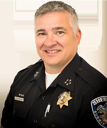 Sheriff Justin Martinez